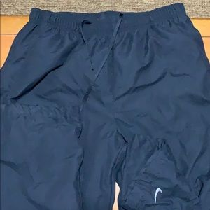 Nike jogging pants lounge pant size medium lined